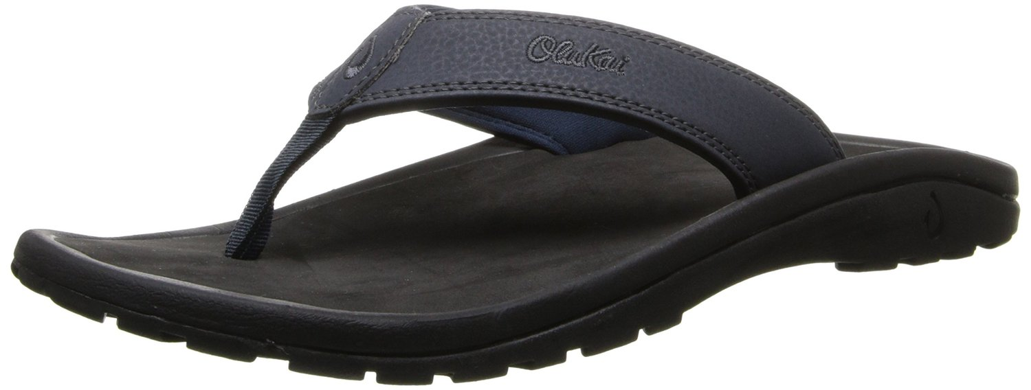 OluKai Men's Ohana Flip Flop for Arch support