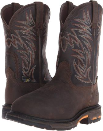 Ariat Men's Workhog WST Metguard H2O Composite Toe Work Boot