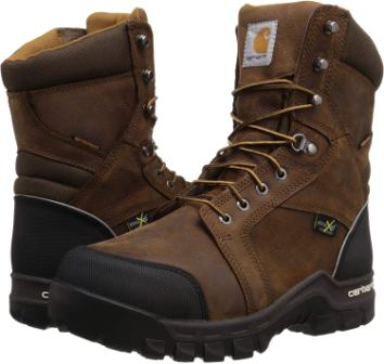 Carhartt 8-inch Men's Waterproof Composite Toe Internal Metatarsal Guard CMF8720 Work Boot
