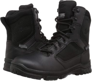 Danner Men's Lookout Side-Zip 8-inch Black Military & Tactical Boot