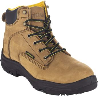 EVER BOOTS Ultra Dry Men's Premium Leather Waterproof Work Boots Insulated Rubber Outsole