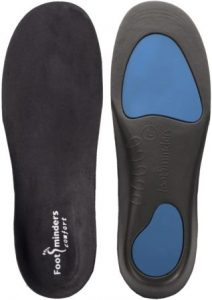Footminders Comfort Orthotic Arch Support Insoles for Sport Shoes and Work Boots