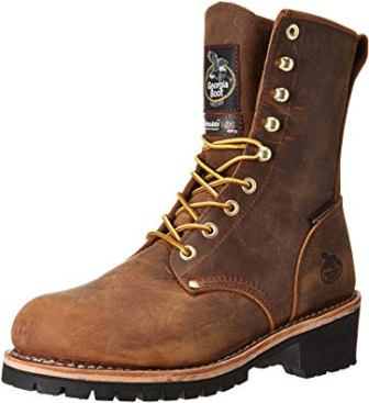 Georgia Men's Boot Waterproof Insulated Logger Work Steel Toe - Gb00065