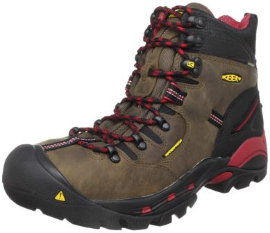 KEEN Utility Men's Pittsburgh 6-inch Steel Toe Waterproof Work Boot