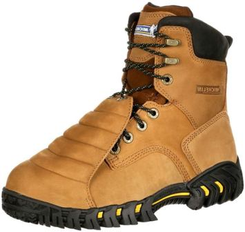 MICHELIN Men's Sledge Steel Toe Metatarsal Guard Boots