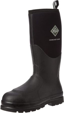 Muck Boot Chore Classic Tall Steel Toe Men's Rubber Work Boot W Metatarsal Guard