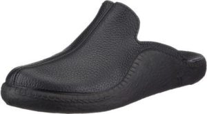 Romika Mokasso 202 Men's Black Leather Slipper