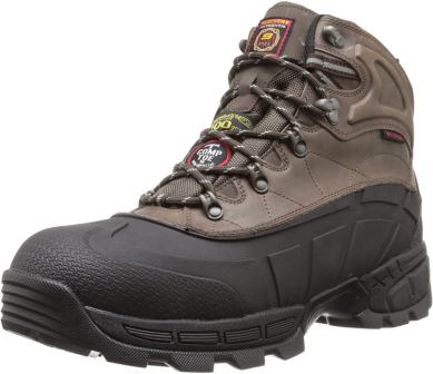 Skechers for Work Men's Radford One fo the Top water proof boot for work