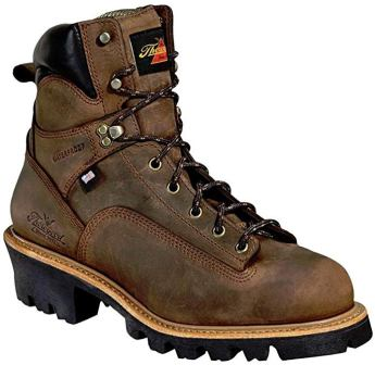Thorogood Men's 6 inch Waterproof Lace-to-Toe Leather Logger