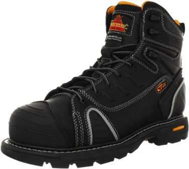 Thorogood Men's GEN-FLEX 6-Inch Lace-Toe top metatarsal work boots