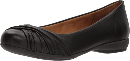 NATURAL SOUL Women's Girly Ballet Flat
