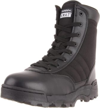 Original S.W.A.T. Classic 9″ Side Zip Work Boots