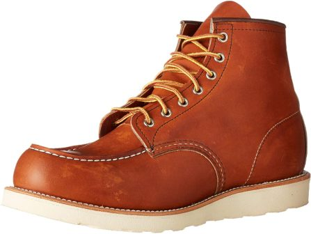 Best Summer Work Boots Red Wing Men's Heritage Moc
