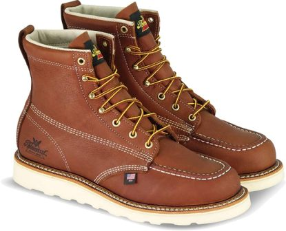 Thorogood Men's American Heritage 6″ MAXwear Wedge Moc Toe Boot