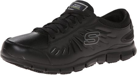Skechers for Work Women's 76551 Eldred Work Shoe, best women's shoes for standing on concrete for long hours