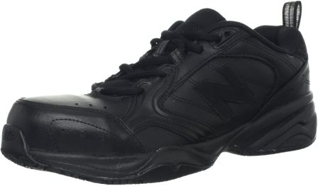 New Balance Men's MID627 Steel-Toe Work Shoe, Best Steel Toe shoes for high arches