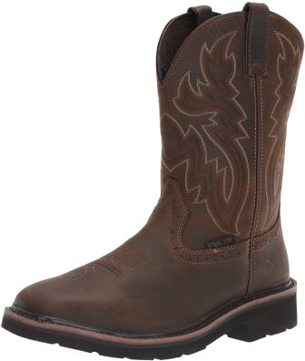 most comfortable steel toed boots