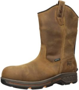 Timberland PRO Men's Helix Pull-on Composite Toe Waterproof Boot