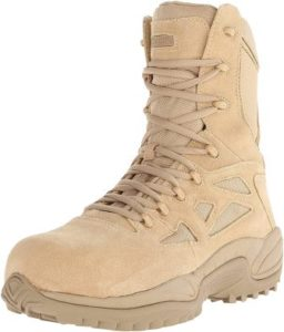 Reebok Work Men's Rapid Response Rb Rb8894-m, the best Army Boot by Rebook