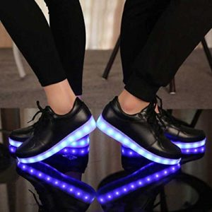 How to change the batteries of LED shoes