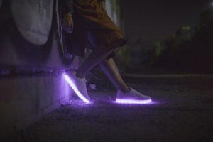 What are LED shoes