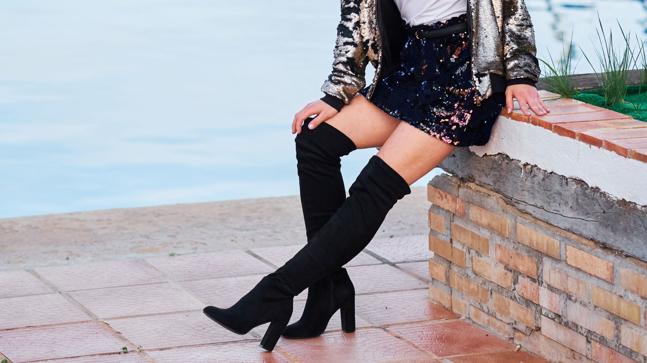 How to Keep Knee High Boots Up