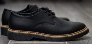 Leather Shoes Water-Resistant