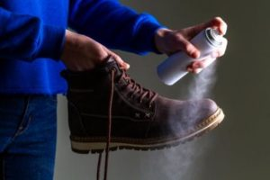 Spray the Shoes