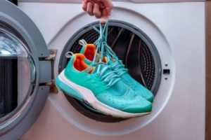 shoes in a dryer