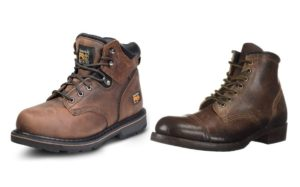 Main Difference Between Plain Toe and Cap Toe
