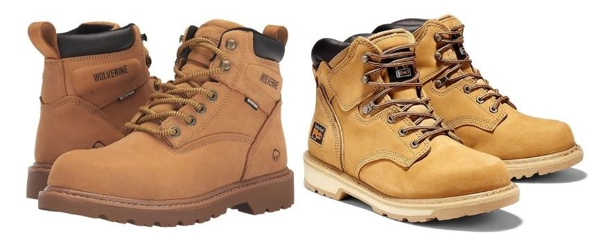 Difference Between Wolverine and Timberland Shoes