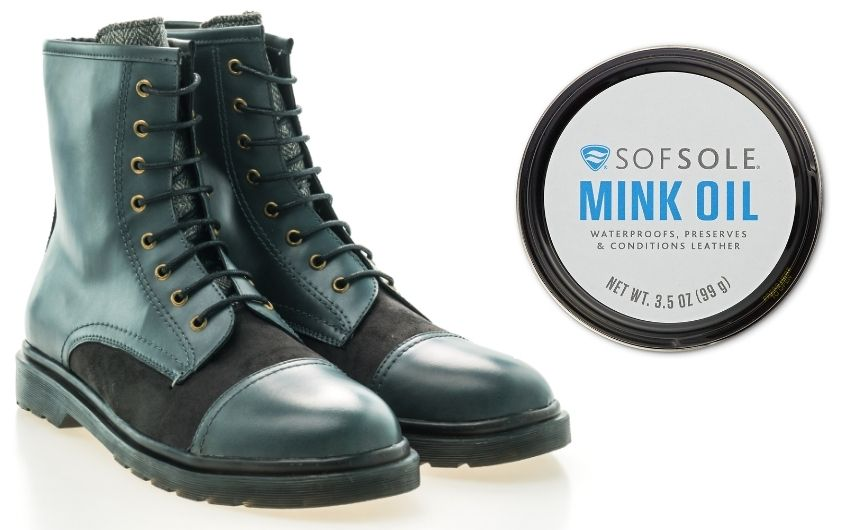 Is Mink Oil Good For Leather Work Boots