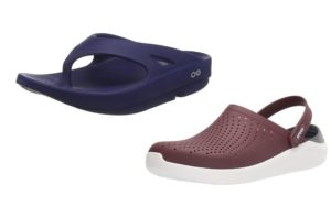 Main Difference Between Oofos and Crocs
