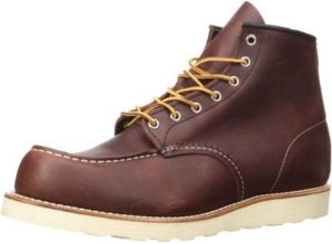 Red Wing boots material